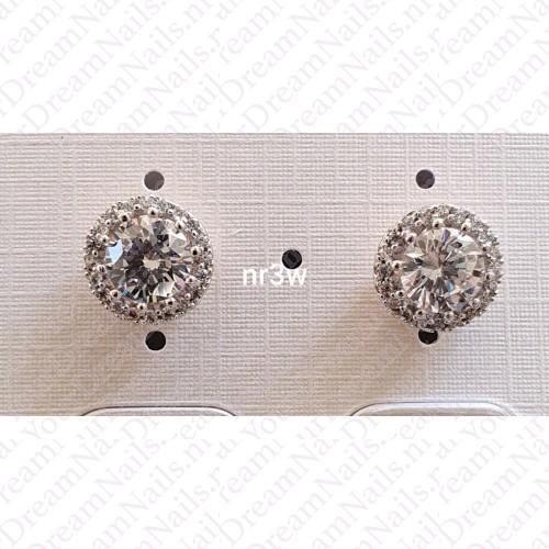 Zilverkleurig nr 003 knopjes