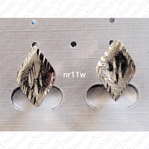 Zilverkleurig nr 0011 knopjes