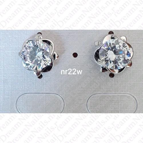 Zilverkleurig nr 0022 knopjes